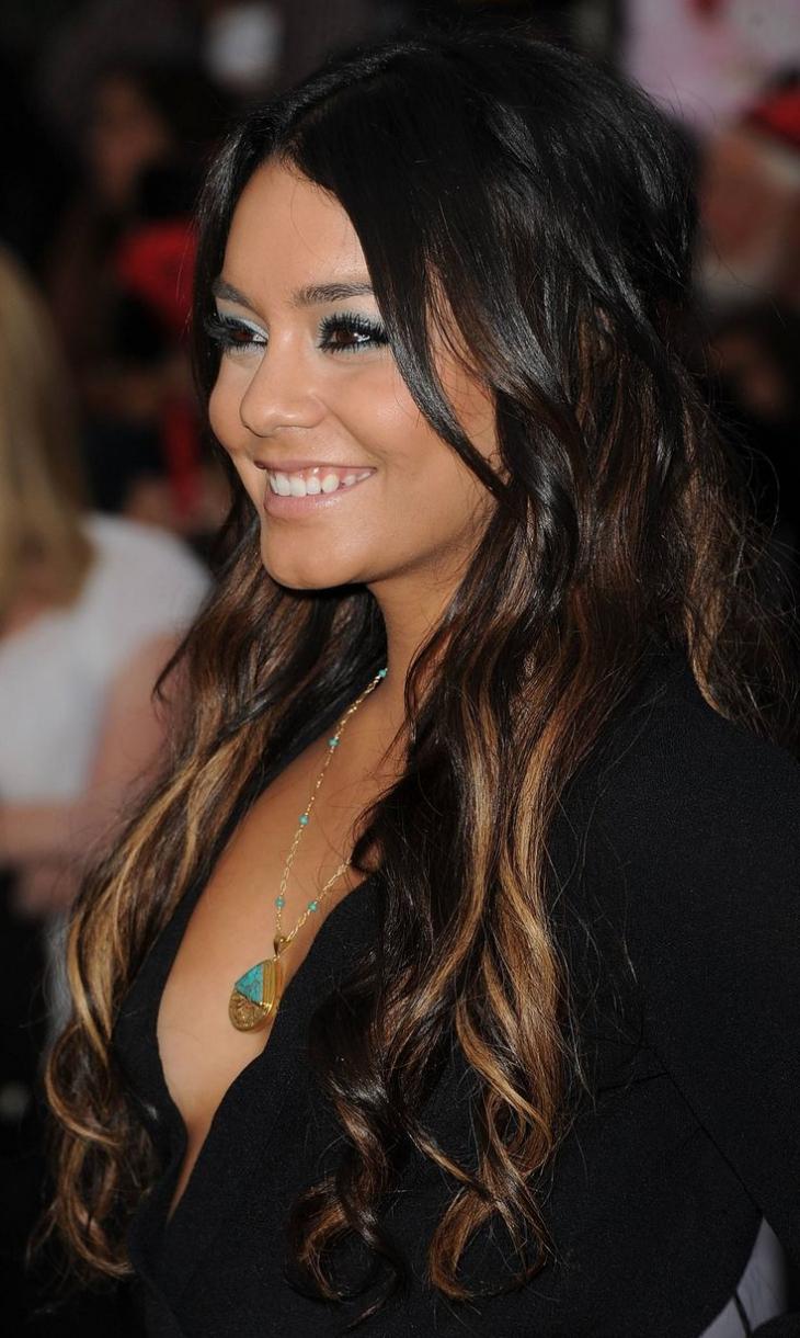 Vanessa Hudgens Ombre hair