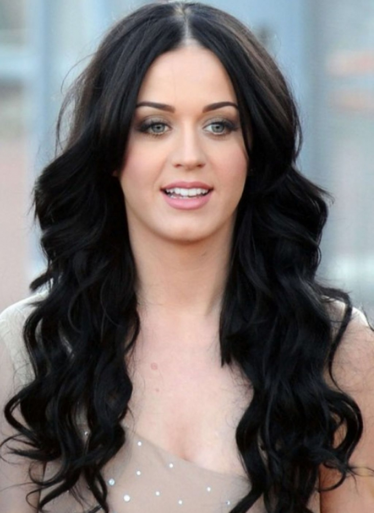 Katy Perry long Weave Hair