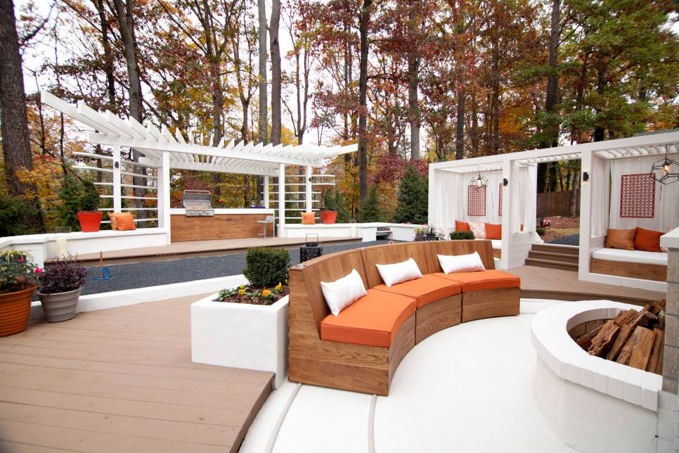 outdoor room entertaining space design