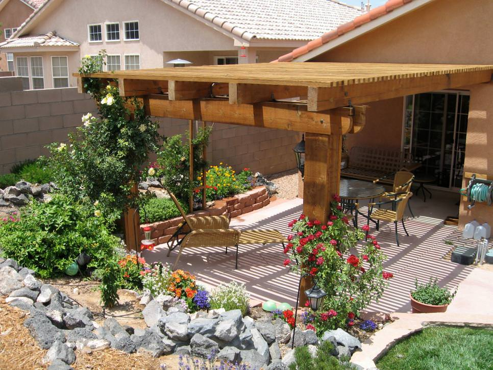 furnished patio design
