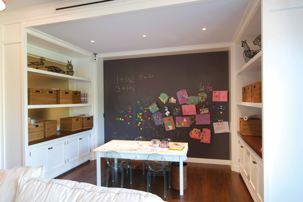 24 Chalkboard Wall Designs Decor Ideas Design Trends  : Simple kids room with chalkboard wall design from www.designtrends.com size 990 x 660 jpeg 117kB