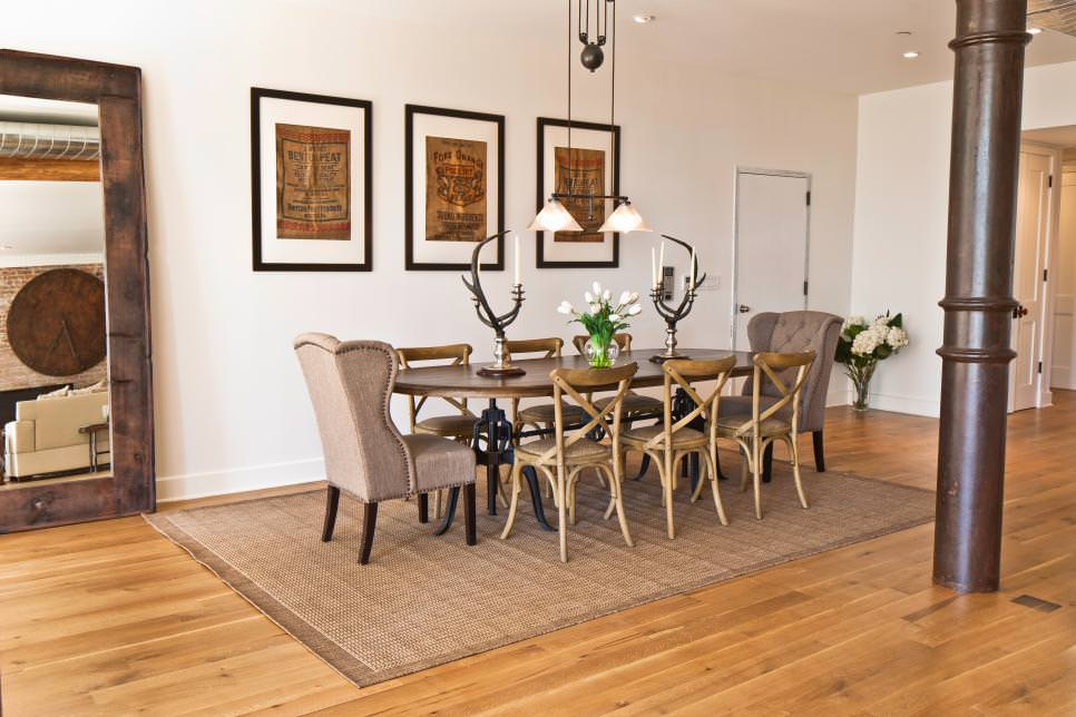 23 transitional dining room designs decorating ideas for Dining room design trends