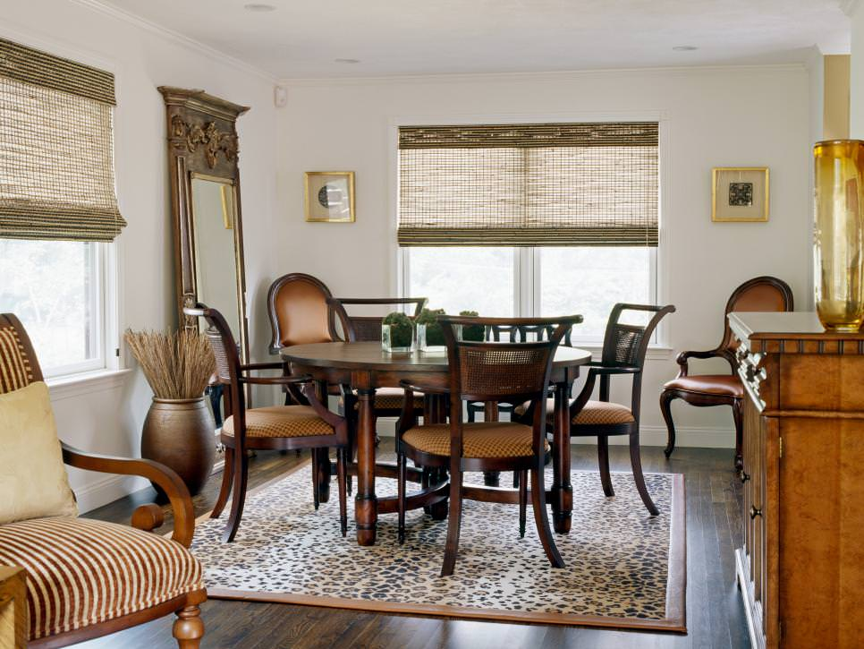 23 transitional dining room designs decorating ideas for Neutral dining room ideas