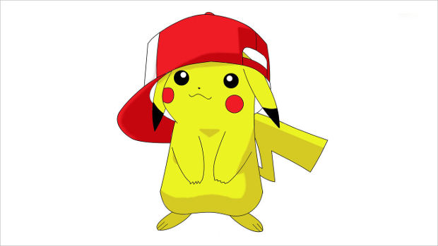 Cute Pikachu Wearing Ash Cap