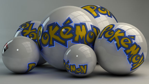 pokemon balls background