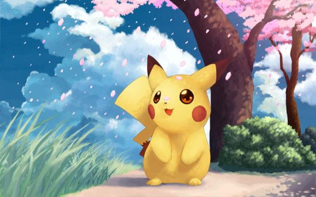 Cute Pikachu Image