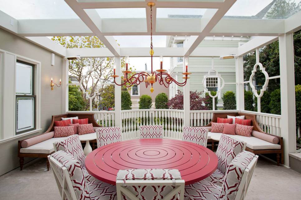 A Beautiful Outdoor Dining Room