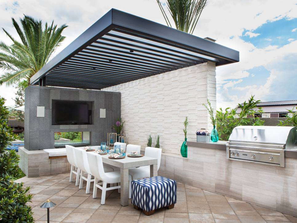elegant outdoor dining room design