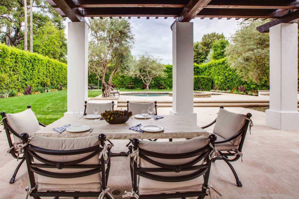 Spanish Colonial Outdoor Dining Room