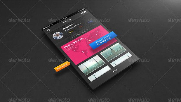 Good looking App Mockup Psd Download