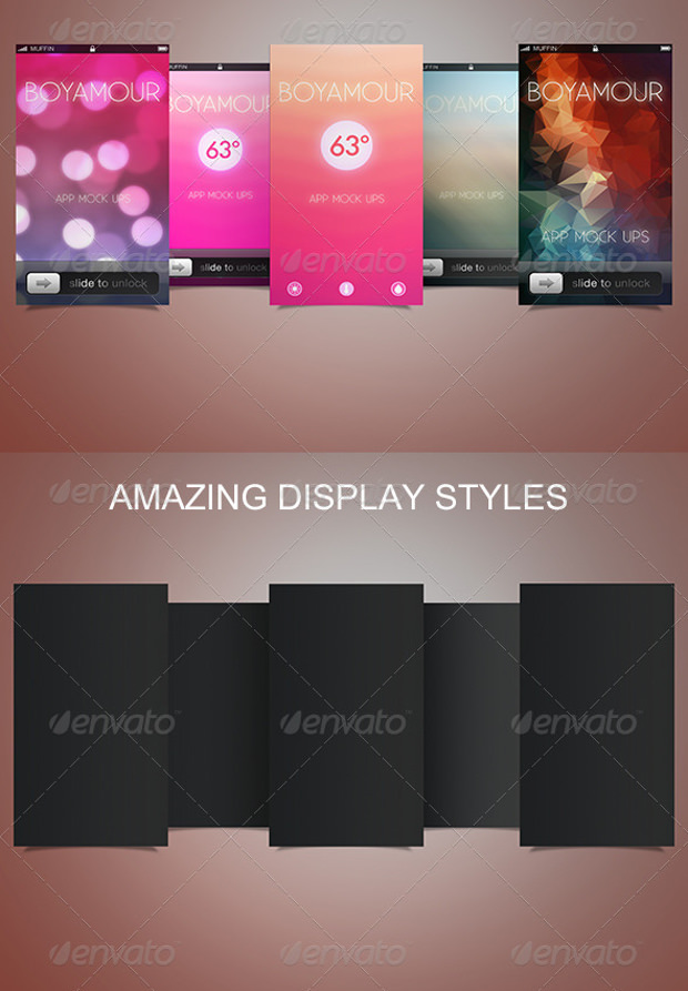Amazing App Mockup Psd Download