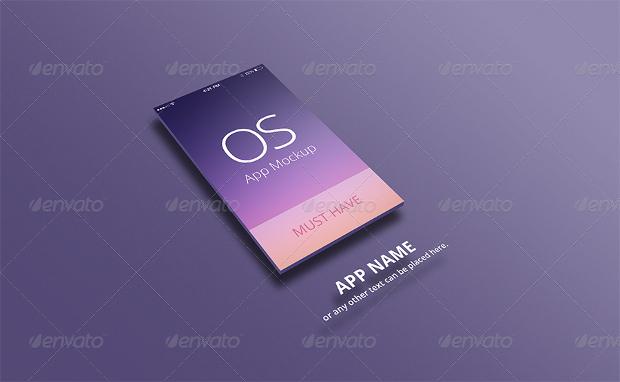 App Mockup for uPhone & uPad Psd