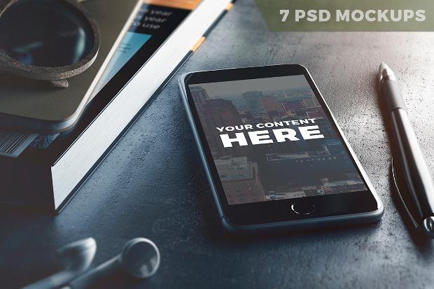 7 Psd App Mockup Download