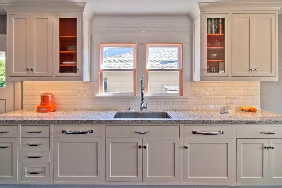 Completely remodeled White Family Kitchen design