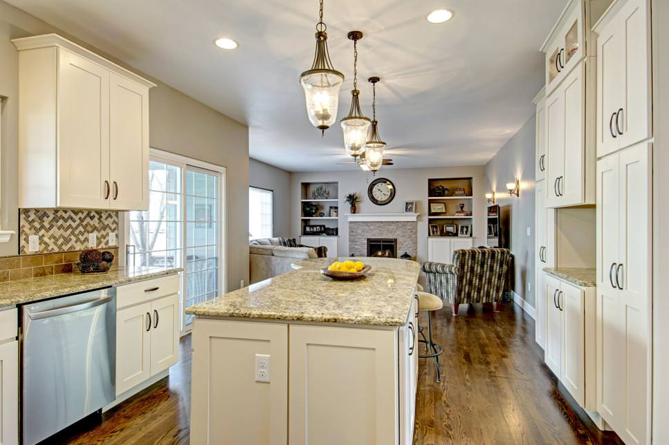 Remodeled Kitchen Features Soft Tones