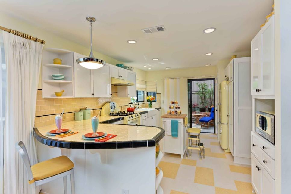 Retro Kitchen Decked Out remodeled design