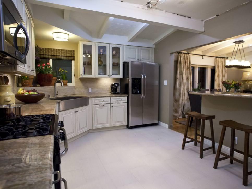 Transitional Kitchen Remodel design
