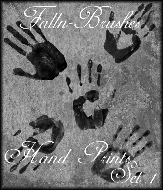 Simple Hand Print Brushes