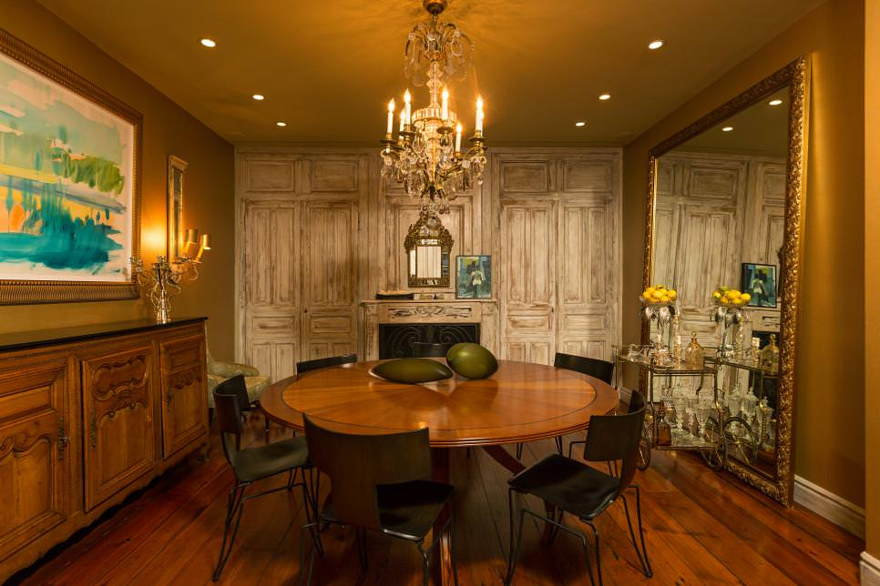 French Country round Dining table design