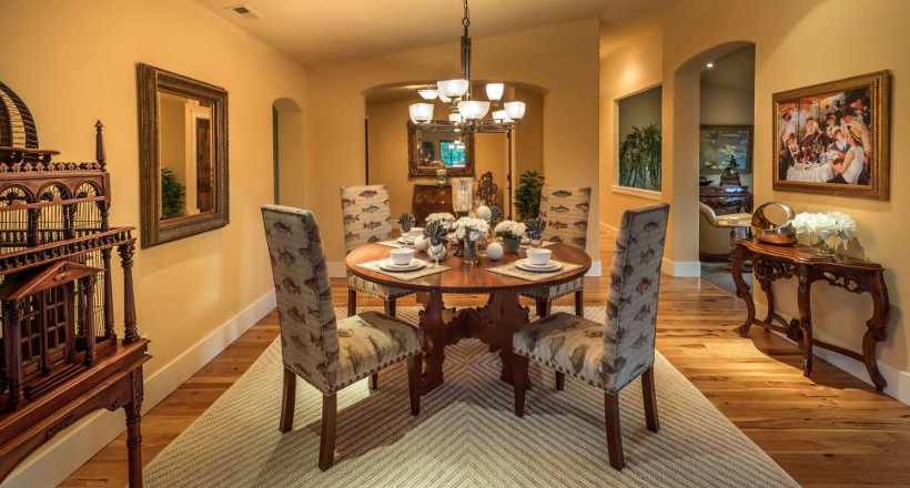 French Country Dining Room Design