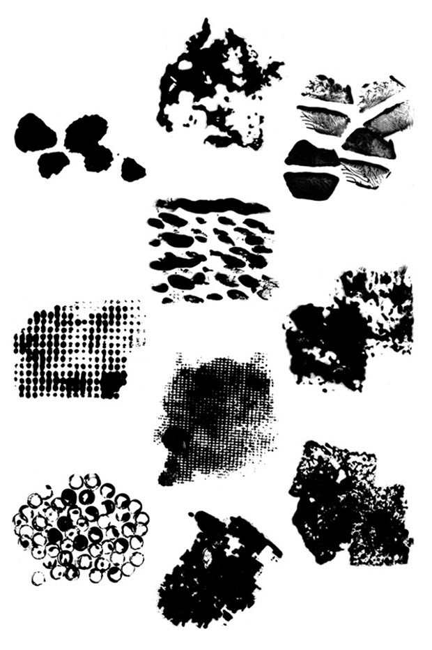 40 Different Hand-Crafted Brushes