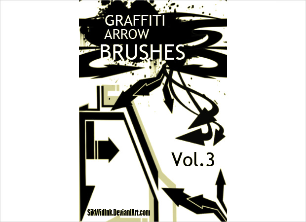 new graffiti arrow brushes
