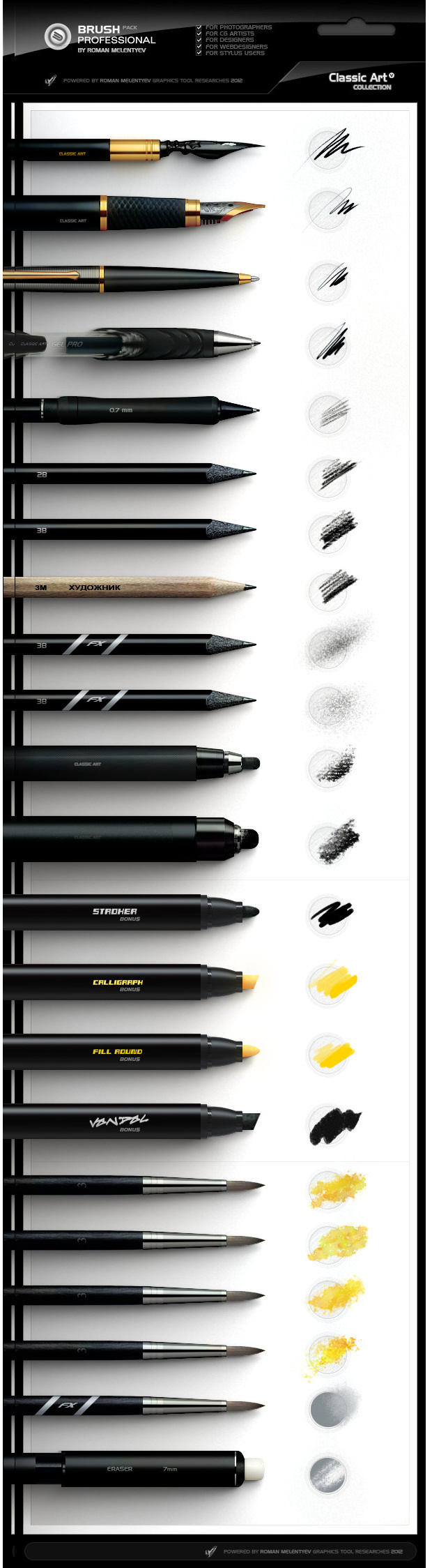 Professional Photoshop Brush Pack
