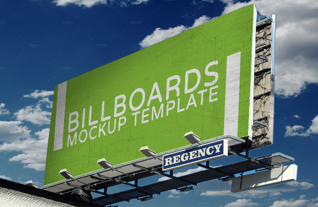 Billboard Banner Mockup Download