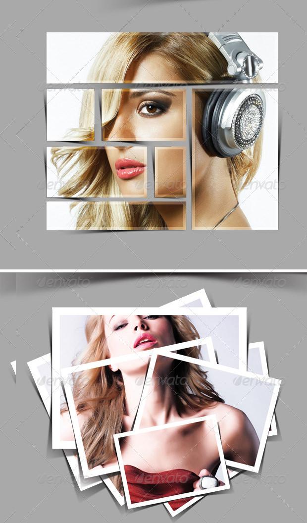 beautiful psd frame templates mockups