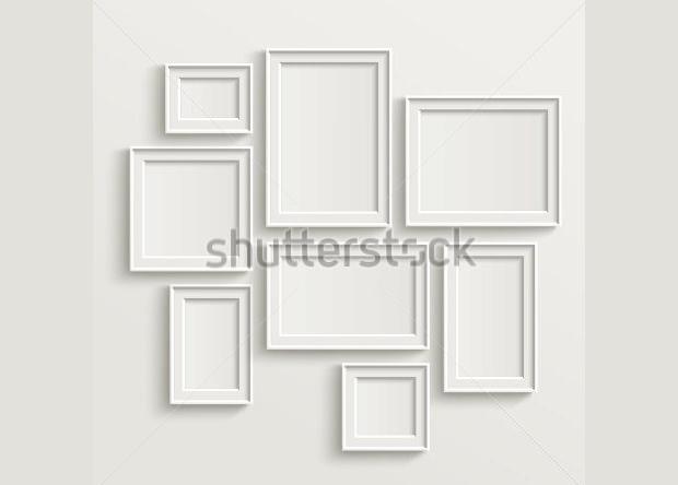 Blank PSD Frame Templates & Mockups