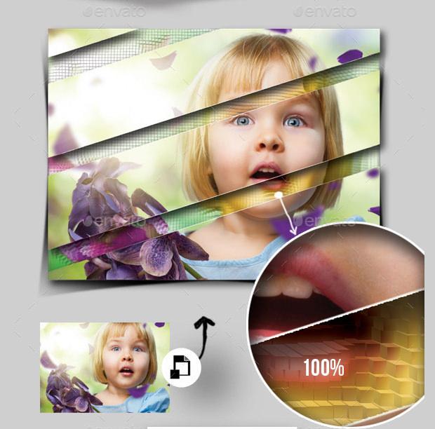 Kids PSD Frame Templates & Mockups