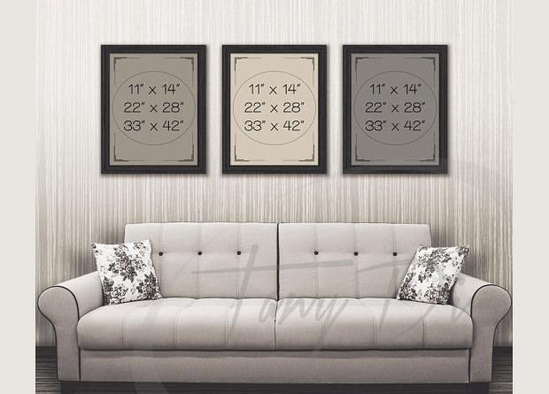 Cool Sofa PSD Frame Templates & Mockups