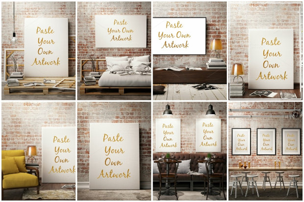 Quality PSD Frame Templates & Mockups