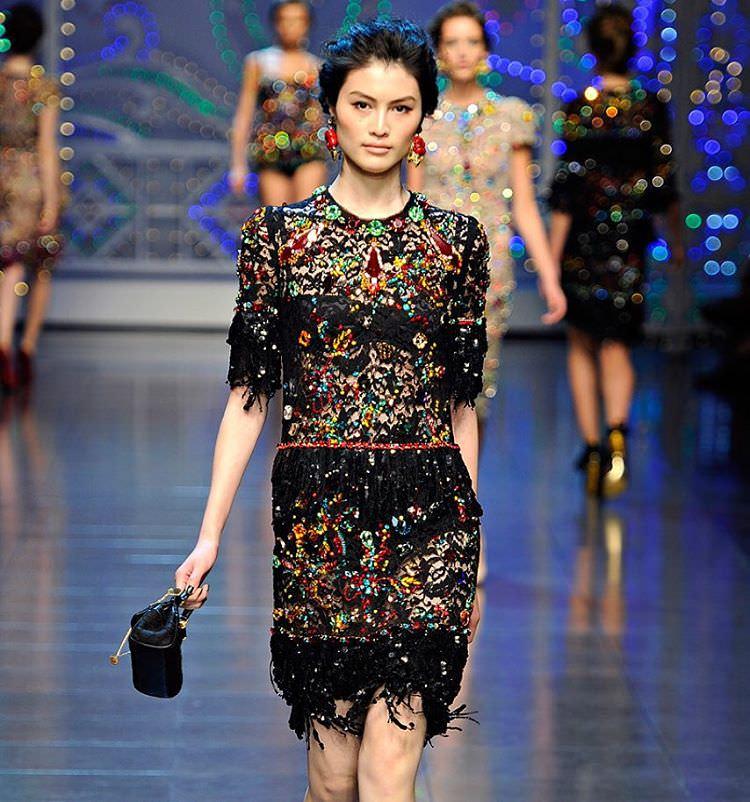 Designer Black Outfit