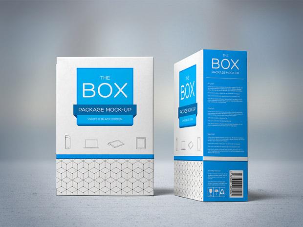 Stylish Packing Box Mock up