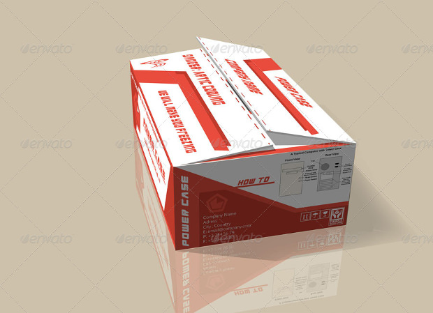 Cardbox Packing Mock-Up