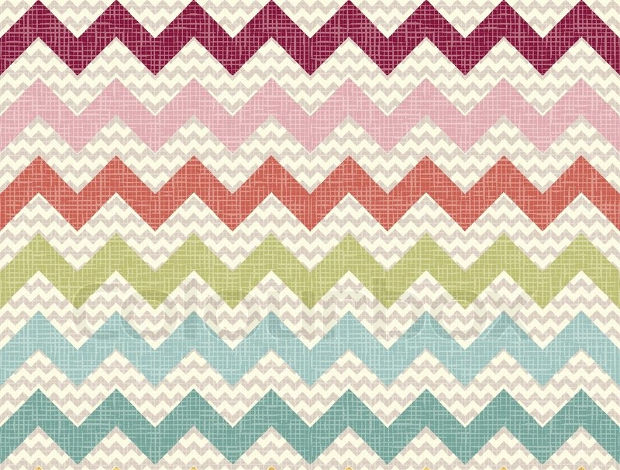 Seamless Color Chevron Pattern