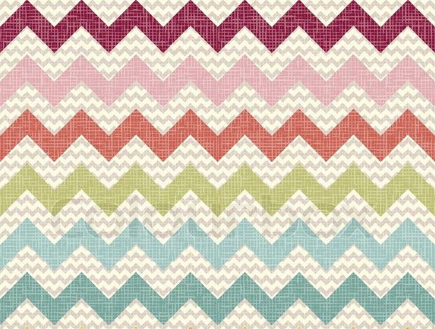 seamless color chevron pattern