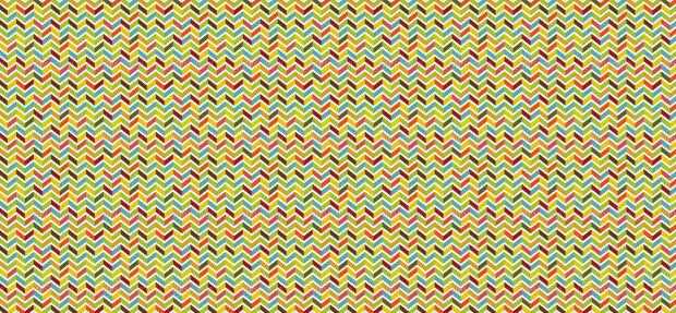 chevron zig zag wave pattern