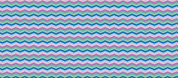 retro chevron pattern