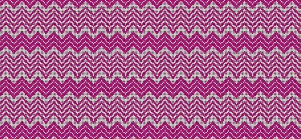 dot chevron pattern design