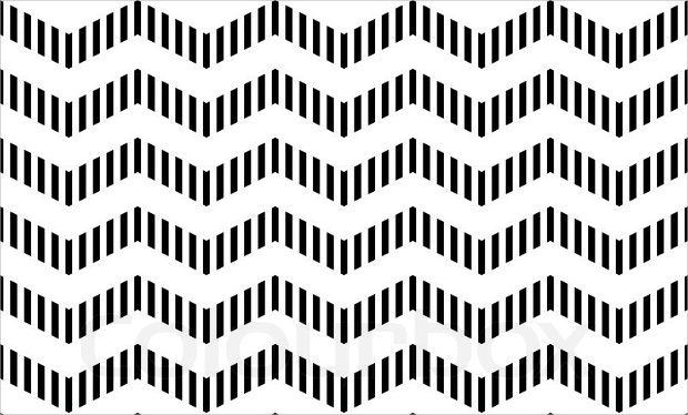 Geometric Zig Zag Pattern