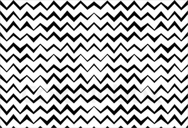 Doodle Chevron Pattern