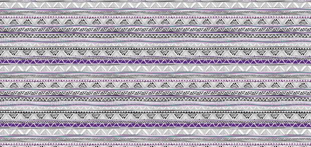 ethno chevron pattern