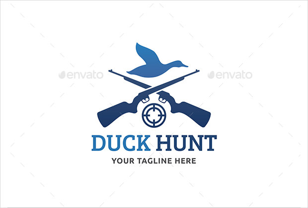 Duck Hunt Logo With Tag Line
