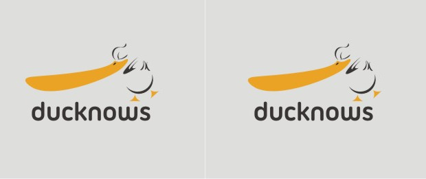 Ducknows Logo Design
