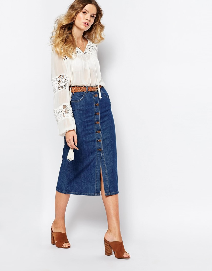 29  Denim Skirts | Fashion | Design Trends