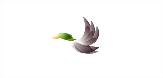Modern Duckhunt Logo