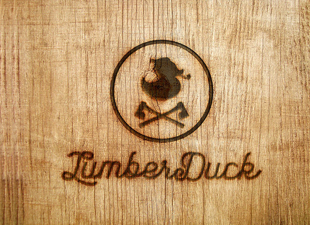 Duck Logo for Lumber Companies