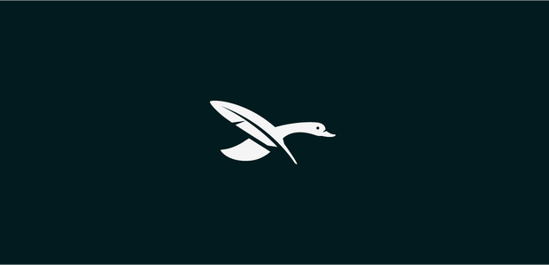 Duck Feather Logo